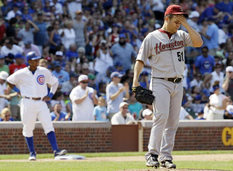 July 1, 2012The Astros kicked off July with a 3-0 loss to the Cubs at Wrigley Field.  (Nam Y. Huh / Associated Press)