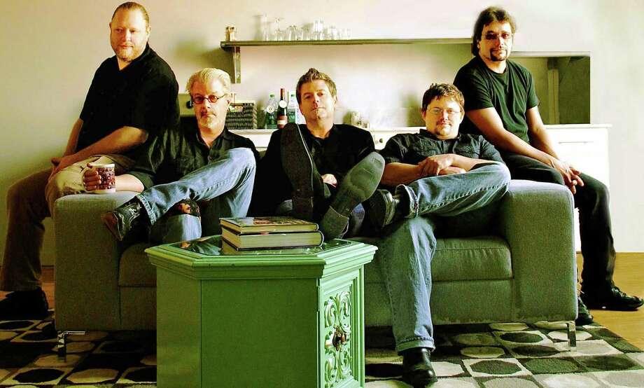 Cajun, etc. band Steve Riley (center) and the Mamou Playboys, from Mamou, Louisiana Photo: Courtesy Photo