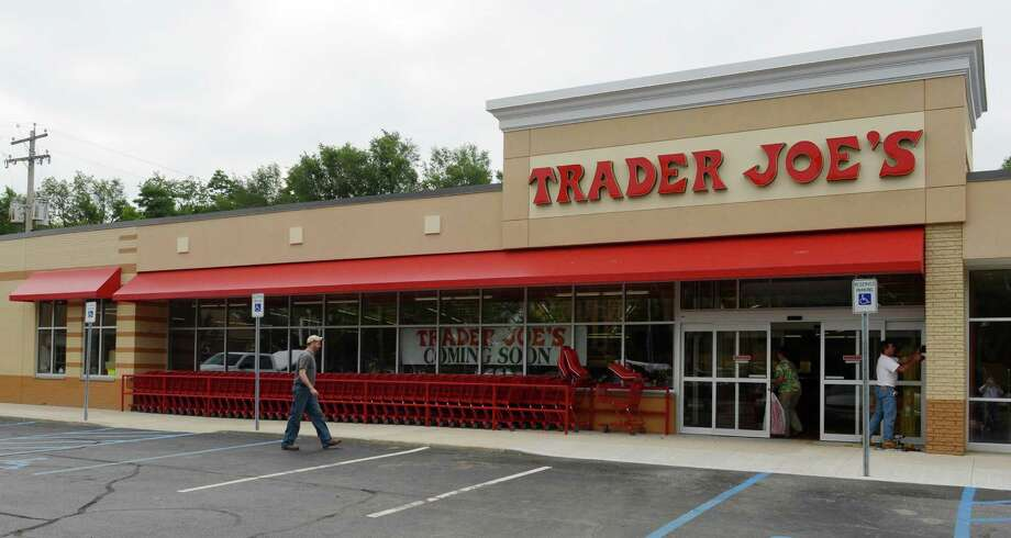 Exterior view of the new Trader Joe's in Colonie, N.Y. July 31, 2012.  The store is scheduled to open on Friday August 3, 2012.      (Skip Dickstein/Times Union) Photo: Skip Dickstein / 00018537A