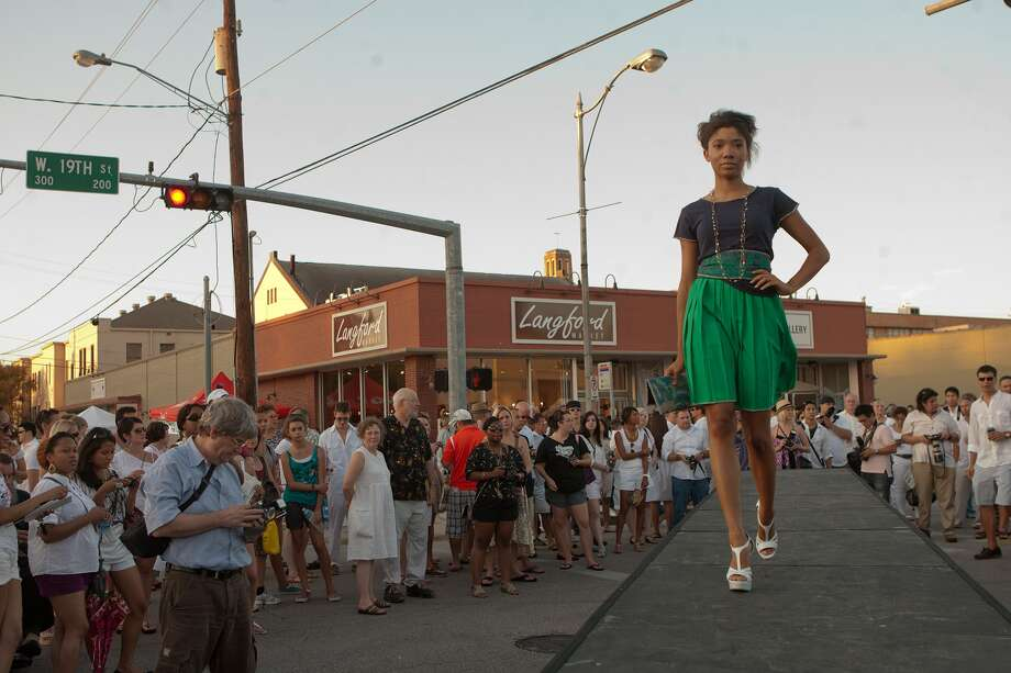 August (date TBA): White Linen Night in the Heights is a neighborhood street party that returns every summer.  Photo: R. Clayton McKee / © R. Clayton McKee