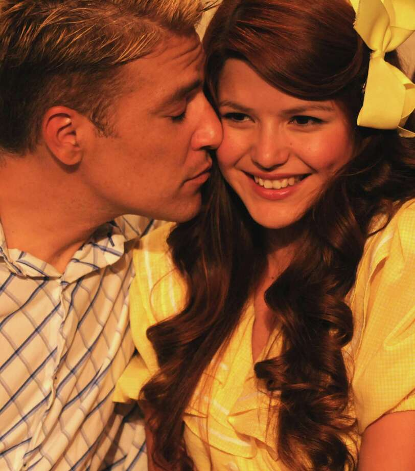 "Peter Morlet and Selina Michelle star in Off-Broadway Productions' ""The Fantasticks."" Photo: Courtesy Kristian Jaime"