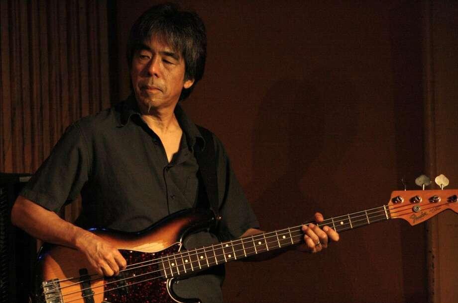Bass player Glen Fukunaga is releasing his debut solo album, an all-instrumental jazz effort. Photo: Jim Beal Jr., San Antonio Express-News