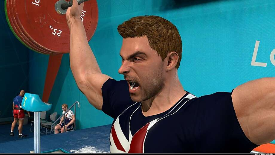 """""""London 2012"""" from Sega is the official video games of the 2012 Olympics, featuring triple jump, weightlifting, archery and other diverse sports. Photo: Courtesy Sega Of America"""
