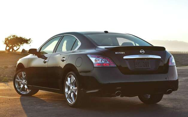 The 2012 Nissan Maxima sedan, billed as a Òfour-door sports car,Ó has plenty of power and is more fun to drive than the typical family car. Beyond that, itÕs roomy and quite comfortable, with a long list of standard amenities and safety features. Photo: Mike Ditz, Nissan North America Inc. / ©2011