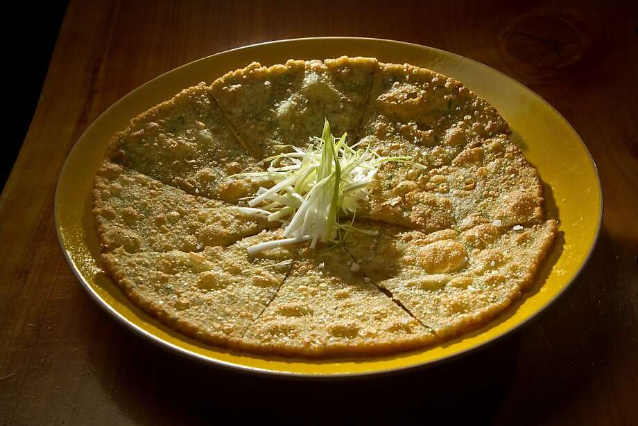 The Scallion Pancake at Heavensdog restaurant in San Francisco, Calif., is seen on Thursday, June 14th, 2012. Photo: John Storey, Special To The Chronicle