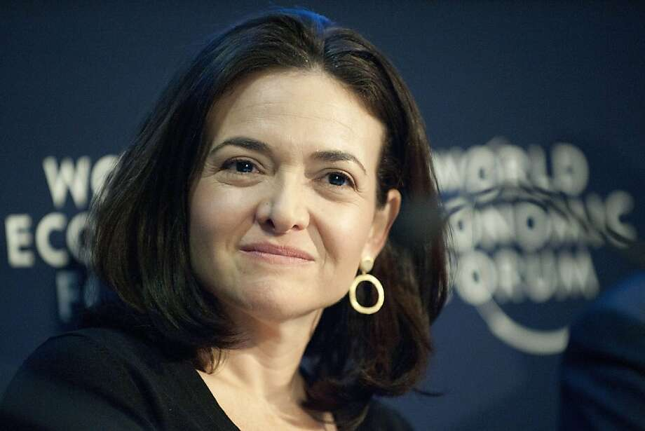 FILE- In this Friday, Jan. 28, 2011, file photo, Sheryl Sandberg, Chief Operating Officer of the social network service Facebook, speaks during a panel session at the 41st annual meeting of the World Economic Forum, WEF, in Davos, Switzerland. Facebook announced Monday, June 25, 2012, it has named its No. 2 executive, Chief Operating Officer Sheryl Sandberg, to its board of directors. Sandberg, who joined Facebook from Google in 2008, is the first woman on Facebook's board of directors. (AP Photo/Keystone, Laurent Gillieron, File) Photo: Laurent Gillieron, Associated Press