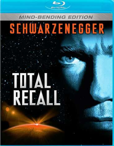 'Total Recall' - Paul Verhoeven's violent sci-fi adventure follows construction worker Douglas Quaid, who discovers a memory chip in his brain during a virtual-reality trip. He also finds that his past has been invented to conceal a plot of planetary domination. Available Nov. 1 Photo: Courtesy Photo