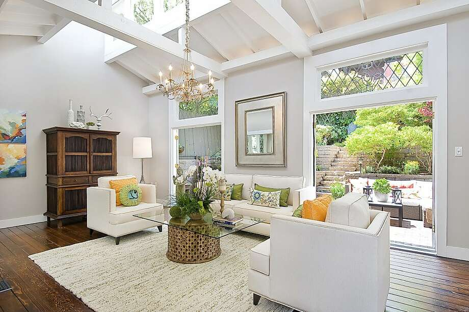 This three-story Noe Valley home promotes indoor/outdoor living with its landscaped front and backyard gardens that serve as extensions of main living areas. Photo: OpenHomesPhotography.com