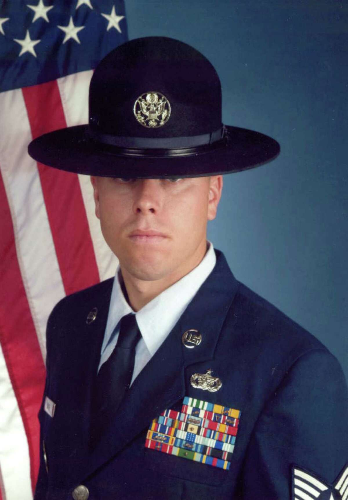 In early August, Tech Sgt Christopher Smith, 33, was convicted on two of four counts of misconduct with basic trainees and sentenced to 30 days in jail.