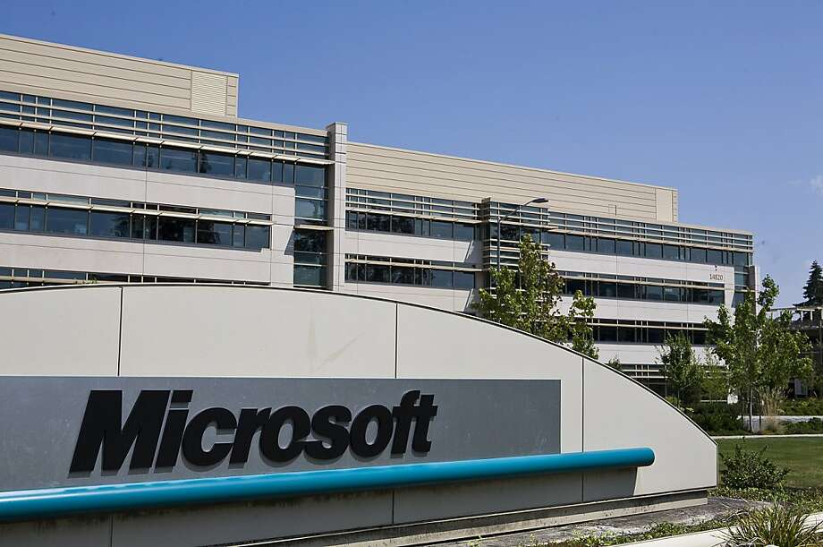 Microsoft's Redmond, Wash., campus. Photo: Stephen Brashear, Getty Images