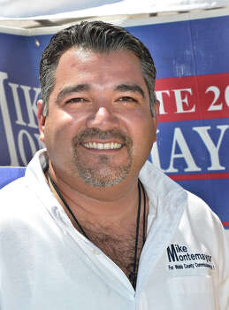 Former Webb County Commissioner Mike Montemayor was sentenced in January 2015 for taking bribes in the form of cash and electronics from an undercover FBI agent posing as a businessman. Photo: CUATE SANTOS / LAREDO MORNING TIMES