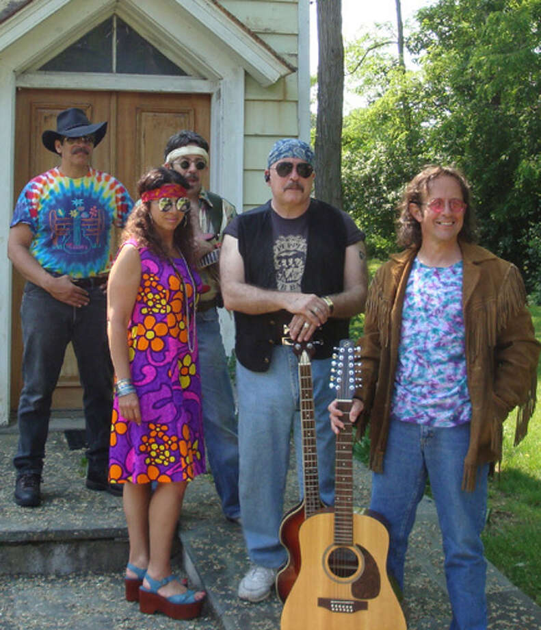 Back to the Garden 1969, a Woodstock tribute band, is expected to perform Wednesday, Aug. 8, 2012 (rain date Aug. 9), at Calf Pasture Beach in Norwalk, Conn., as part of a summer concert series. The members of the band are, from left, Bob Fonseca, Annie Masciandaro, Larry Kelly, Mike Garner and Gary Adamson. The concert begins at 7 p.m.. For more information, call 203-854-7807. Photo: Contributed Photo