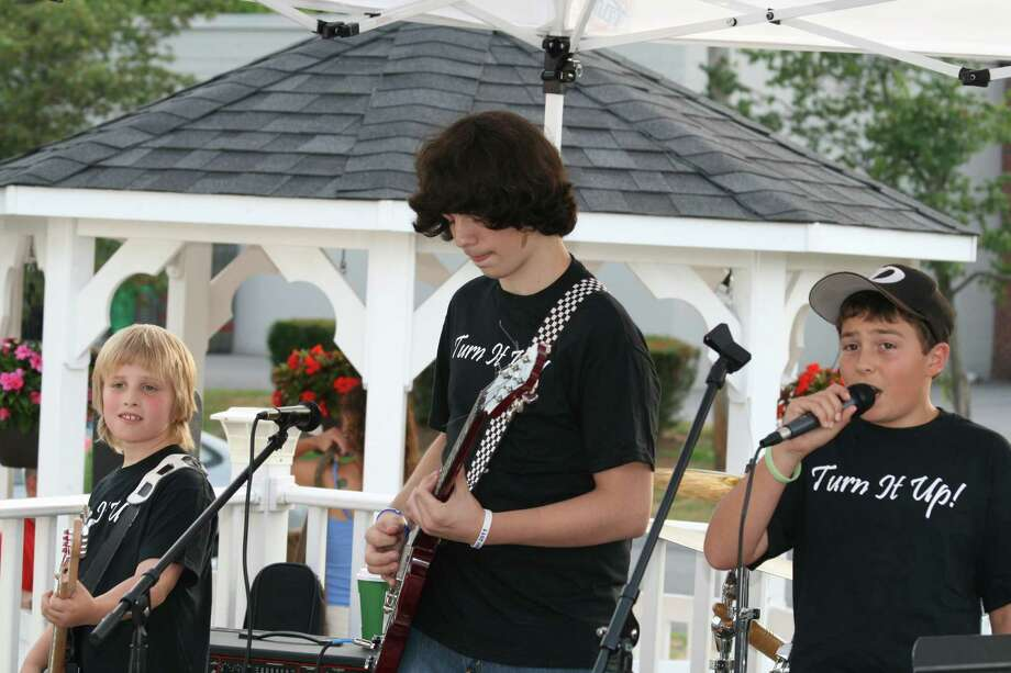 Students perform a number in July at the Music Studio's' Rock Camp at the Cone Zone in Albany. Rock Camp is a summer program where students learn the basics of rock and roll and see how much fun playing in a group can be, says Noel Liberty,  founder and director of the Music Studio. (Noel Liberty)