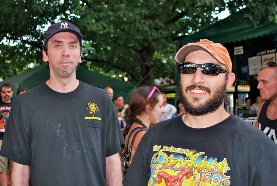 Were you Seen at the Mayhem Fest with Motorhead, Anthrax, Slipknot and other metal bands at SPAC on Tuesday, July 31, 2012? Photo: Michael Huber