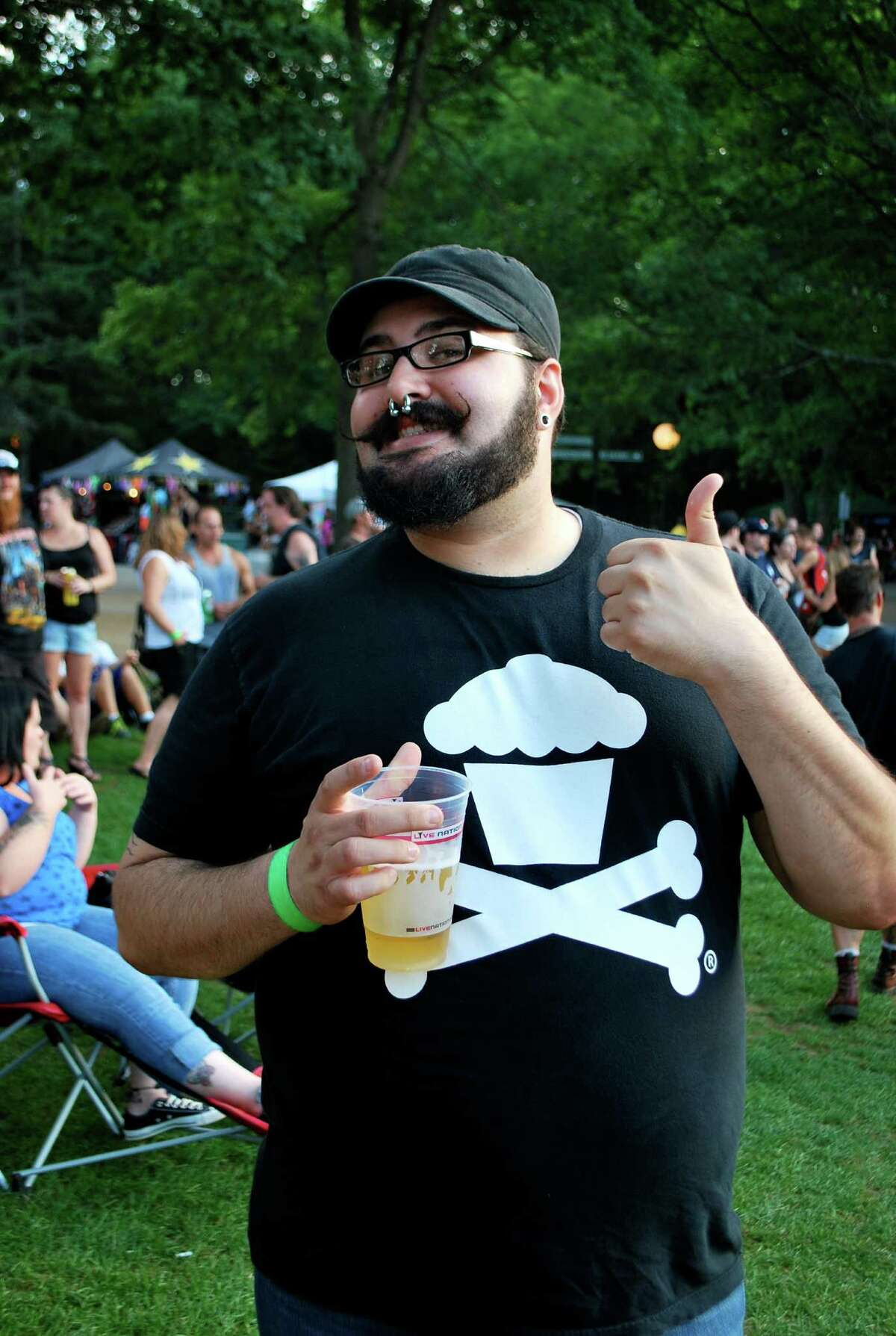 Were you Seen at the Mayhem Fest with Motorhead, Anthrax, Slipknot and other metal bands at SPAC on Tuesday, July 31, 2012?