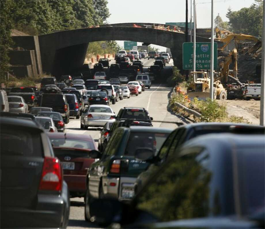 Seattle drivers are accident-prone, according to claims data from Allstate Insurance Company. (seattlepi.com file)