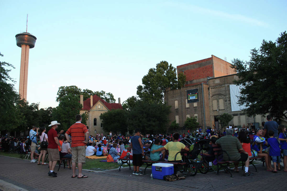 July 9, 16, 23 & 30: Movies by Moonlight at HemisFair Park. Pre-entertainment at 7:30. Movie starts at 8:30. Free. Call (210) 207-3677 for details.