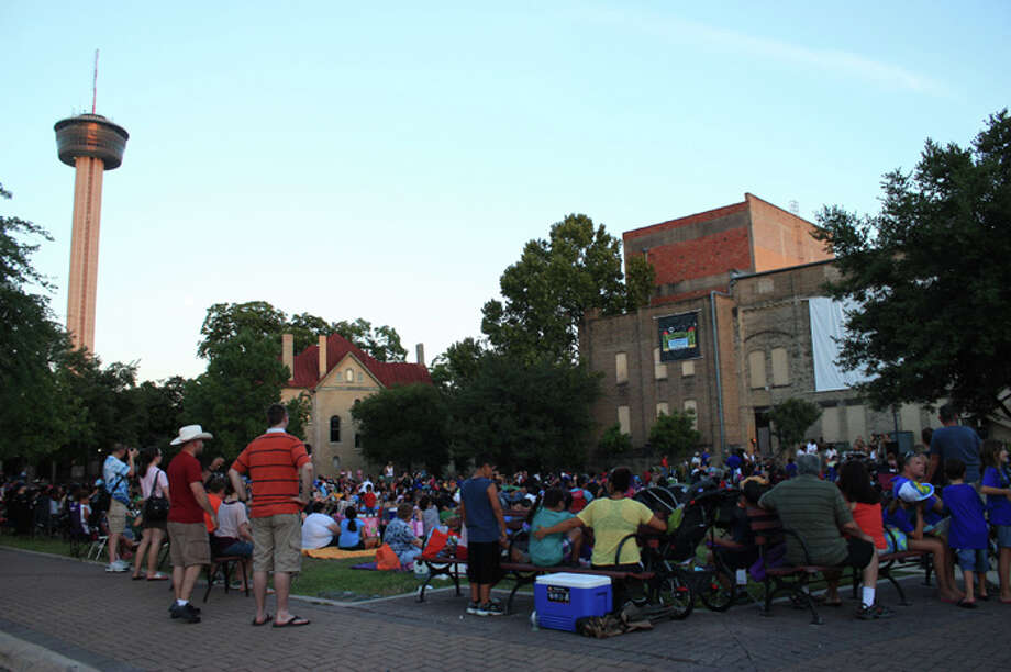 July 9, 16, 23 & 30: Movies by Moonlight at HemisFair Park. Pre-entertainment at 7:30. Movie starts at 8:30. Free. Call (210) 207-3677 for details. Photo: Libby Castillo