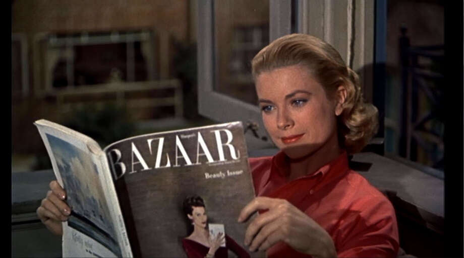 "Grace Kelly co-stars with James Stewart in the 1954 Alfred Hitchcock classic ""Rear Window"" which is being screened Wed. Aug. 15 at 6:30 p.m. as part of the ""Flicks & Fizz"" series at the Bijou Theatre in Bridgeport. Photo: Contributed Photo"