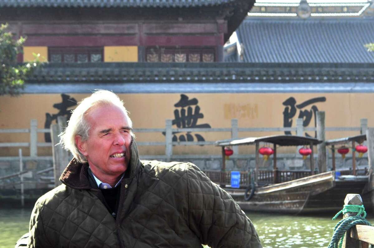 """Author and Greenwich resident Peter Kiernan warns of the growing influence of China on the U.S. economy in his new book, """"Becoming China's Bitch -And Nine More Catastrophes We Must Avoid Right Now."""" """"Having your number one supplier of export goods also be the number one holder of your debt is an unwise financial construct,"""" he says."""