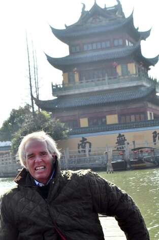 "Greenwich resident and author Peter D. Kiernan writes about a growing Chinese influence on the U.S. economy and other looming problems in his new book ""Becoming China's Bitch - and Nine More Catastrophes We Must Avooid Right Now."" Photo: Contributed Photo"