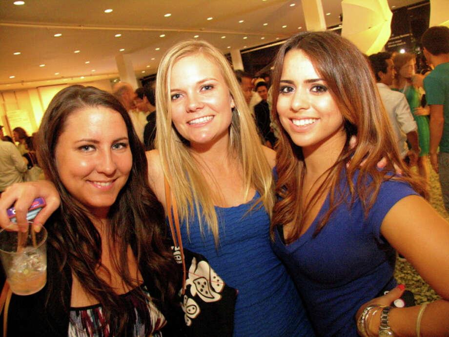 Tiffany Grymes, from left, Kimberly Hughes and Celeste Gutierrez