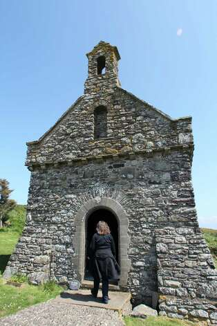 Tiny St. Non's Chapel near the city of St. David's is in the spot where, according to legend, St. Non gave birth to St. David in the sixth century. Photo: Spud Hilton / The Chronicle
