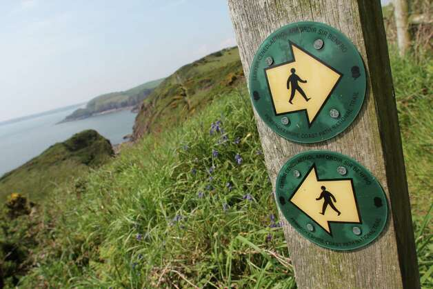 The Pembrokeshire Coast Path traces the region's rugged and picturesque shores and cliffs. Photo: Spud Hilton / The Chronicle
