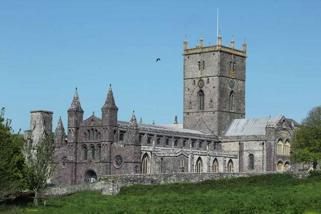 St. David's Cathedral in the town of St. David's is among the attractions that are easily accessible from the Pembrokeshire Coastal Path. Photo: Spud Hilton / The Chronicle