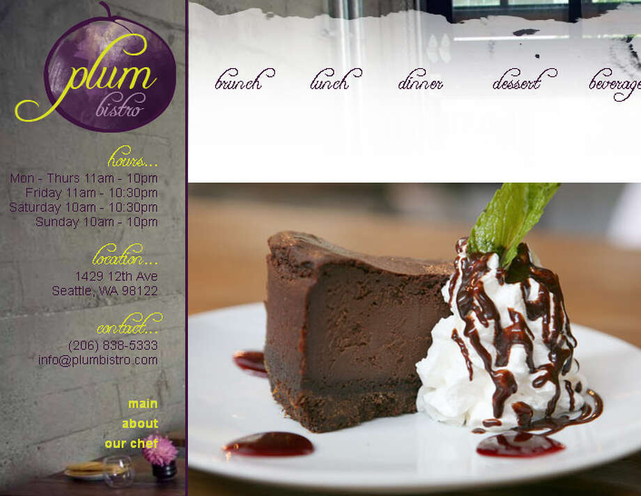 "Plum Bistro: This place is known for its crepes, spicy ""Mac and Yease"" and other vegan goodies. Image: Plum Bistro website.  Photo: Seattle Center"