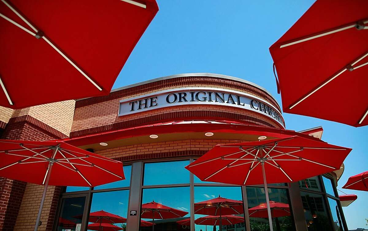 FORT WORTH, TX - AUGUST 01: A Chick-fil-A restaurant is seen on August 1, 2012 in Fort Worth, Texas. Chick-fil-A resturants across the country experienced heavier than normal traffic after Mike Huckabee, the former governor of Arkansas and a 2008 presidential candidate, encouraged a