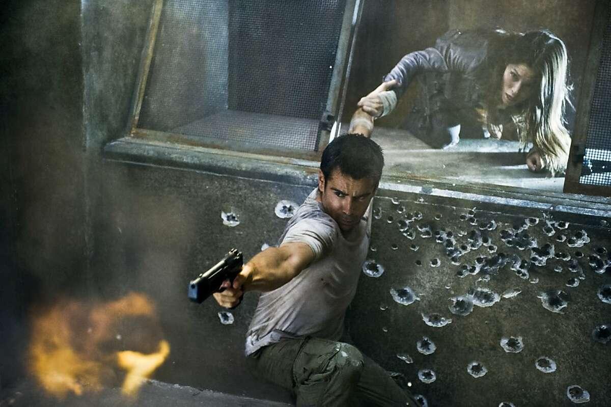 Colin Farrell stars in sci-fi actioner