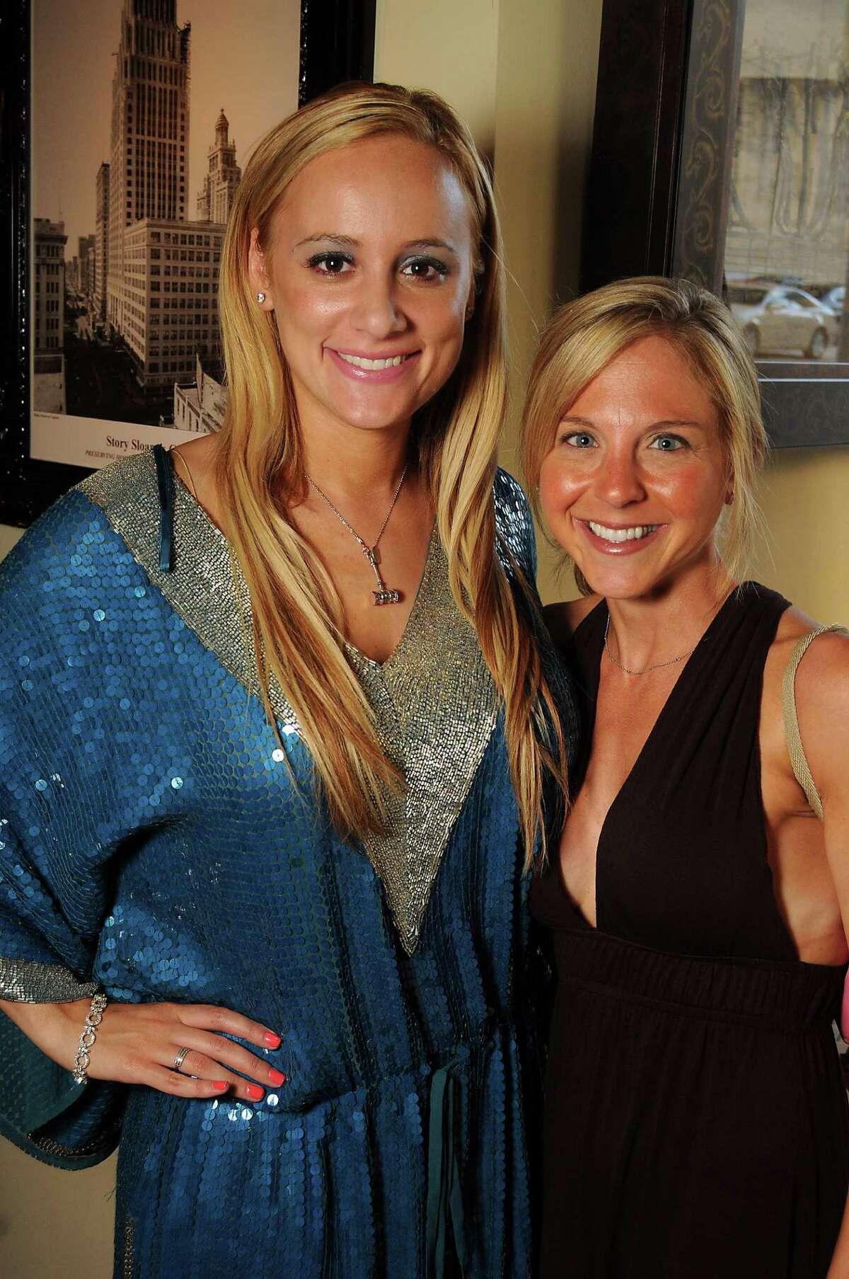 Erica Rose, left, and Leslie Karp
