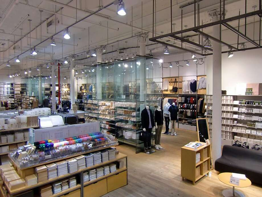 -- Muji, a Japanese retailer with a devoted following among designers and those untouched or recovering from logo fever, has announced plans to open a San Francisco store in November. Photo: Muji