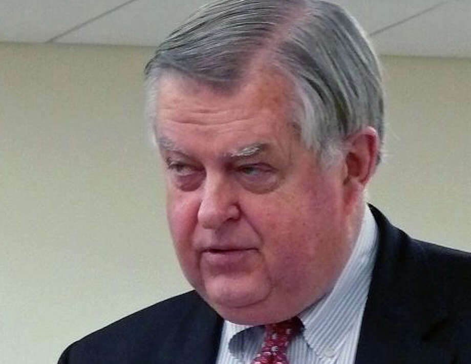 """Paul Hiller has """"offered"""" to resign as the town's chief fiscal officer as of Sept. 15 after 13 years in the post, First Selectman Michael Tetreau announced Wednesday. Photo: Genevieve Reilly / Fairfield Citizen"""