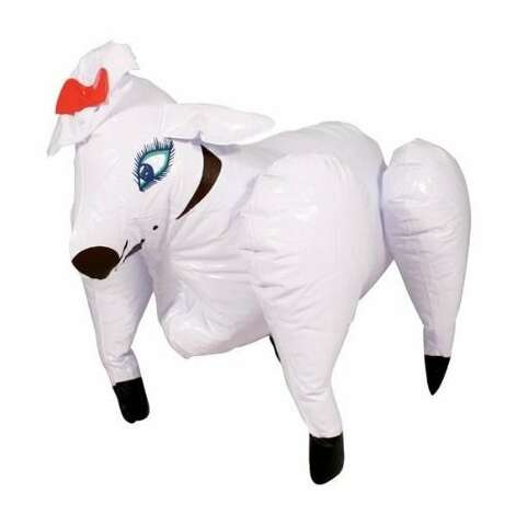 DOLLY THE SEXY INFLATABLE SHEEP: Please tell me this is a gag gift. Please... (View on Amazon.)