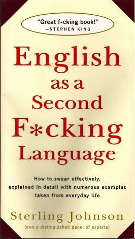 """ENGLISH AS A SECOND F*CKING LANGUAGE:"" Because it's hard to learn how to swear in another language. (View on Amazon.)"