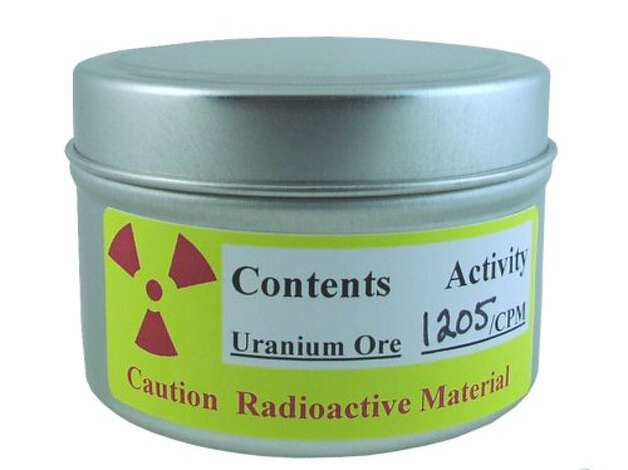 URANIUM ORE: For $50, you get a sample of radioactive uranium ore. Not only is this one of the strangest things on Amazon, it also has the strangest buyer comments. (View on Amazon.)