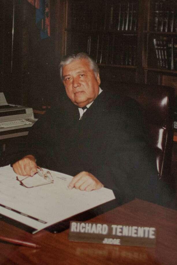 Judge Richard Teniente Photo: COURTESY