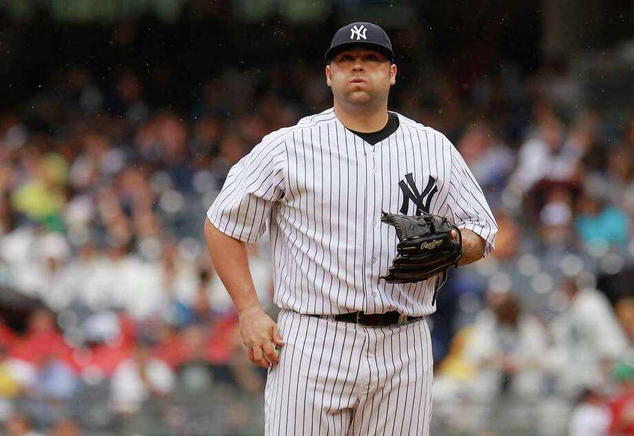 Joba Chamberlain can breathe a sigh of relief after returning to the mound for the Yankees for the first time in 14 months after elbow and ankle injuries. Photo: Mike Stobe / 2012 Getty Images
