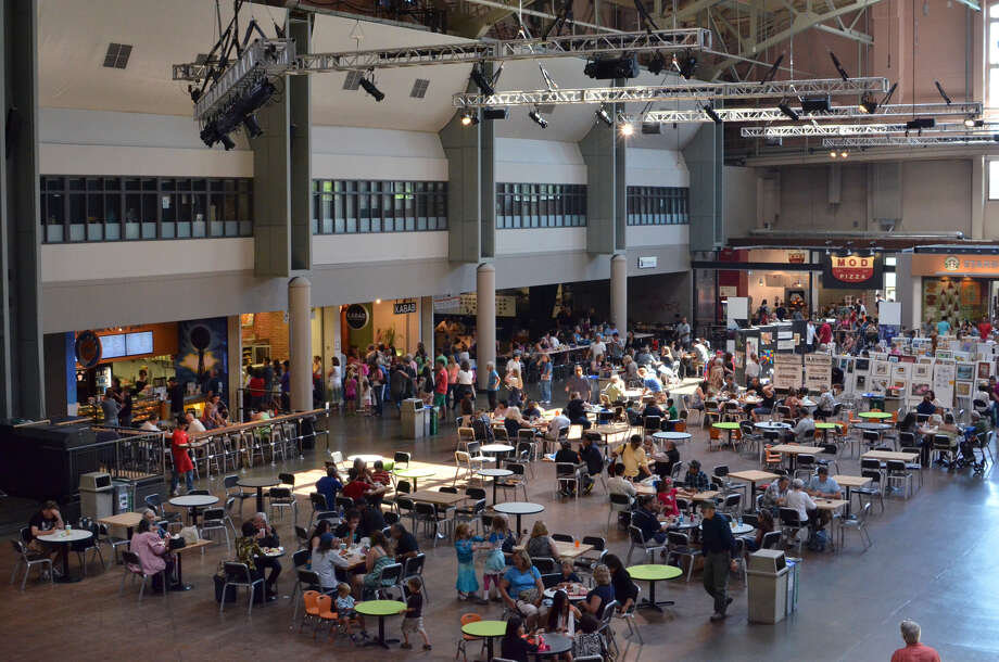 Seattle Center Armory food court, post make-over. Photo: Seattle Center
