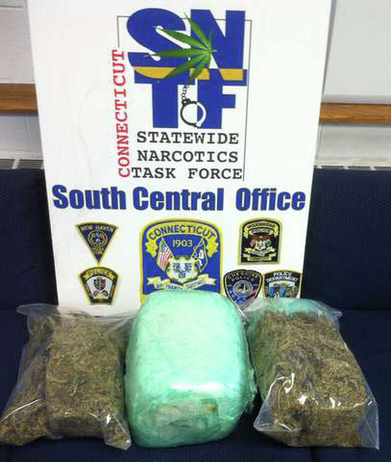Police intercepted 14 pounds of marijuana that was sent through the mail to a home in New Haven, Conn.. August 1, 2012. Photo: Contributed
