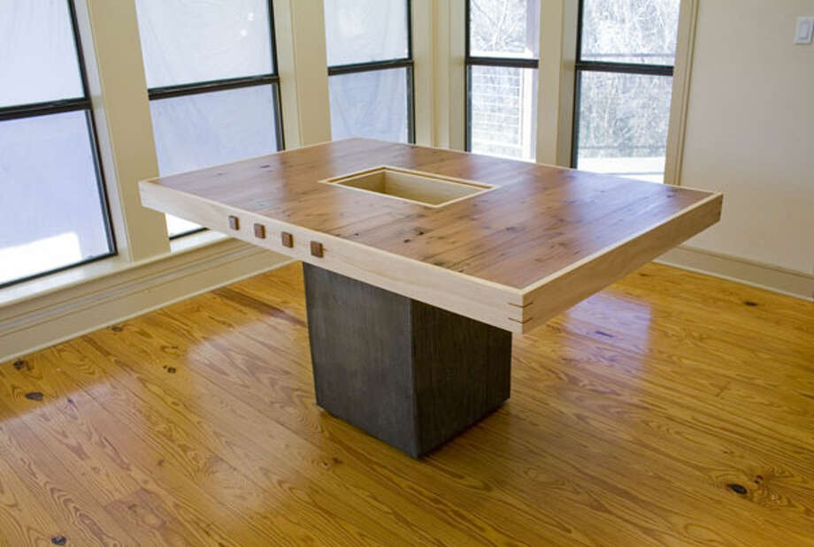An early fascination with Legos and a subsequent degree in architecture bout contributed to Matthew Hlavinka's first love, making furniture. Courtesy photo