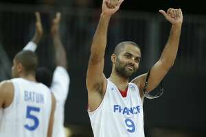 Tony Parker will compete in Olympic qualifying tournament despite wife's pregnancy - Photo