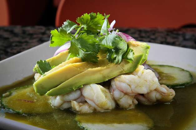 The shrimp aguachile at Copita. Photo: John Storey, Special To The Chronicle