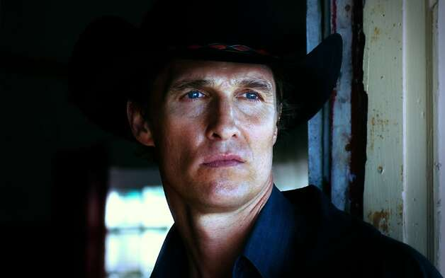 "This film image released by Independent Pictures shows Matthew McConaughey in a scene from ""Killer Joe."" Photo: Associated Press"