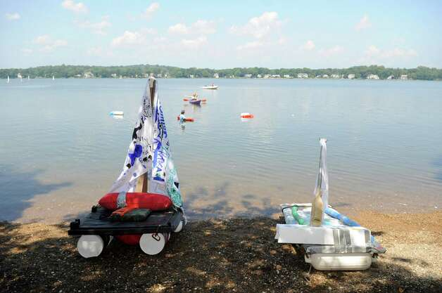 Science in action at soundwaters stamfordadvocate for Anything made by waste material