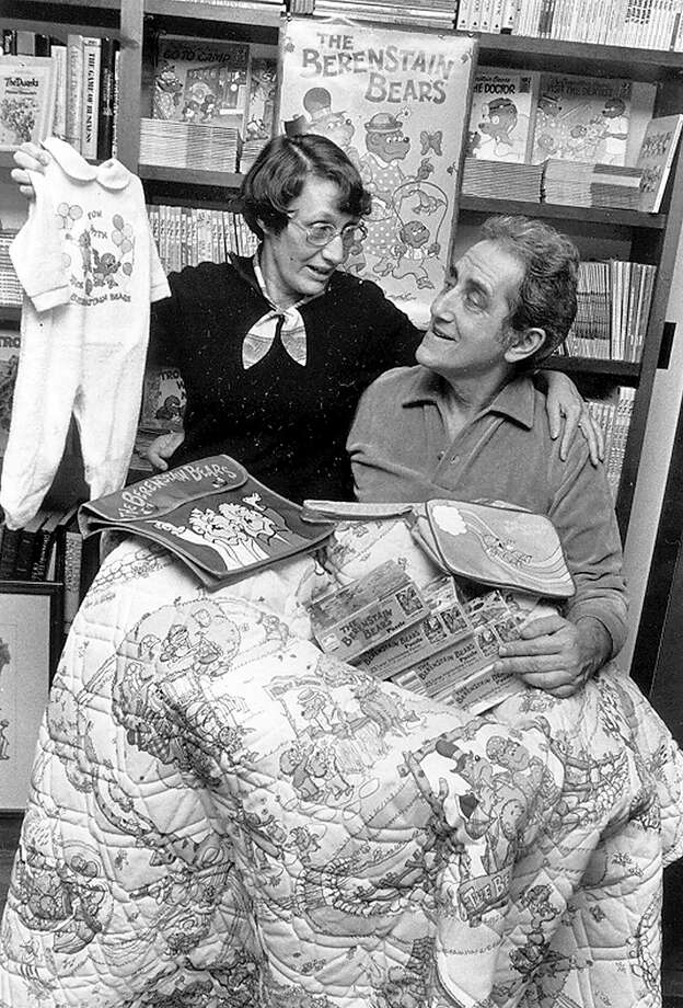 """Jan and Stan Berenstain, seen in a 1999 file photo, authored dozes of children's books in their """"Berenstain Bears"""" series,"""" the inspiration for the musical coming to the Westport Country Playhouse in the fall. Photo: Gian Luiso, Associated Press / 2012 Calkins Media"""