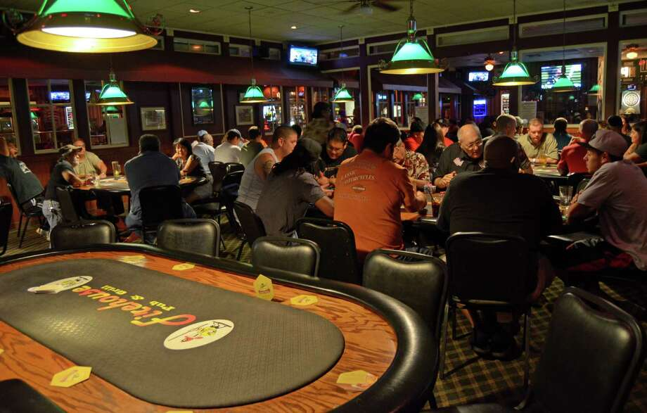 Firehouse Pub and Grill sticks to its name with heavy firefighter decorations but sports as well and offers poker fiends poker tournaments every night, live music, triva, board games, darts and drink specials. Robin Johnson