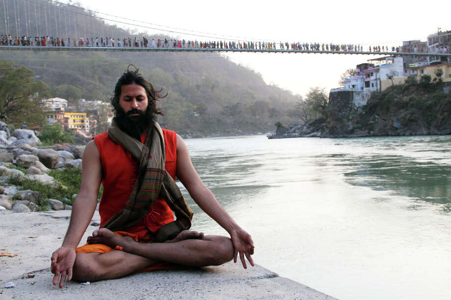 A provocative social experiment-turned-documentary, KUMARE follows American filmmaker Vikram Gandhi as he transforms himself into a wise Indian guru, Photo: --